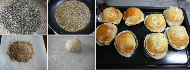 マリアアザミ(ミルクシスル)パンの完成